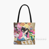 POkemon Custom Personalized Tote Bag Polyester with Small Medium Large Size