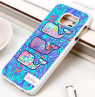 Lilly Pulitzer Vineyard Vines whale Samsung Galaxy S3 S4 S5 S6 S7 case / cases