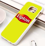 lipton tea Samsung Galaxy S3 S4 S5 S6 S7 case / cases