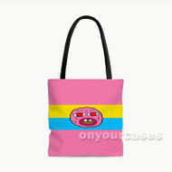 Tyler Creator Cherry Bomb Face Custom Personalized Tote Bag Polyester with Small Medium Large Size