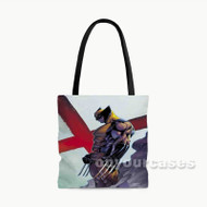 Wolverine Custom Personalized Tote Bag Polyester with Small Medium Large Size