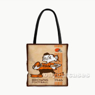 Cleveland Browns NFL 1946 Custom Personalized Tote Bag Polyester with Small Medium Large Size