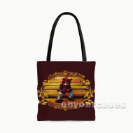 Kanye West The College Dropout Custom Personalized Tote Bag Polyester with Small Medium Large Size