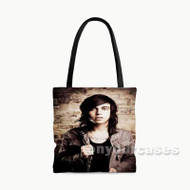 Kellin Quinn Sleeping With Sirens Custom Personalized Tote Bag Polyester with Small Medium Large Size