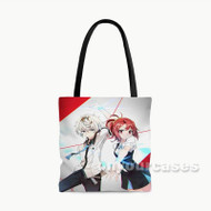 Kiznaiver Custom Personalized Tote Bag Polyester with Small Medium Large Size