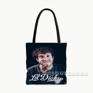 Lil Dicky Custom Personalized Tote Bag Polyester with Small Medium Large Size