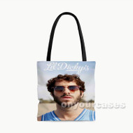 Lil Dicky Fce Custom Personalized Tote Bag Polyester with Small Medium Large Size