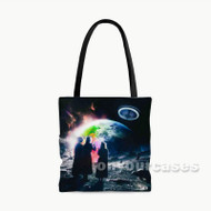 Lil Uzi Vert Eternal Atake Custom Personalized Tote Bag Polyester with Small Medium Large Size
