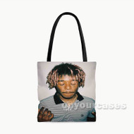 Lil Uzi Vert Rapper Custom Personalized Tote Bag Polyester with Small Medium Large Size