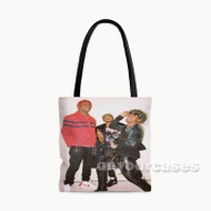 Lil Yachty Ken Rebel Lil Uzi Vert Custom Personalized Tote Bag Polyester with Small Medium Large Size