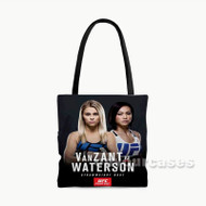 Paige Van Zant vs Michelle Waterson UFC Custom Personalized Tote Bag Polyester with Small Medium Large Size