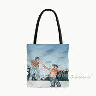 Rae Sremmurd Featuring Gucci Mane Custom Personalized Tote Bag Polyester with Small Medium Large Size