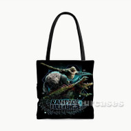 Rampage Full Force Custom Personalized Tote Bag Polyester with Small Medium Large Size