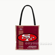 San Francisco 49ers NFL 1946 Custom Personalized Tote Bag Polyester with Small Medium Large Size