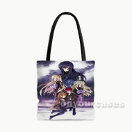 Schwarzesmarken Custom Personalized Tote Bag Polyester with Small Medium Large Size