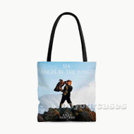 Sia Angel By The Wings Custom Personalized Tote Bag Polyester with Small Medium Large Size