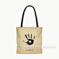 Skyrim The Dark Brotherhood Custom Personalized Tote Bag Polyester with Small Medium Large Size