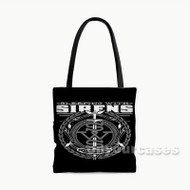 Sleeping With Sirens Flag Custom Personalized Tote Bag Polyester with Small Medium Large Size