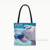 Smallfoot Custom Personalized Tote Bag Polyester with Small Medium Large Size