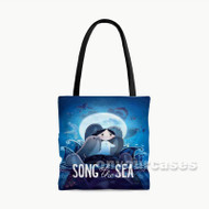 Song of the Sea Custom Personalized Tote Bag Polyester with Small Medium Large Size