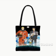 Space Brothers Custom Personalized Tote Bag Polyester with Small Medium Large Size