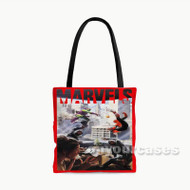 Spider Man Age of Marvels Custom Personalized Tote Bag Polyester with Small Medium Large Size