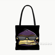 Spinrilla Custom Personalized Tote Bag Polyester with Small Medium Large Size