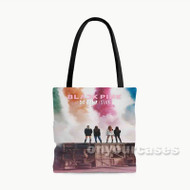Stay Blackpink Custom Personalized Tote Bag Polyester with Small Medium Large Size