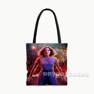 Stranger Things Season 3 Eleven Custom Personalized Tote Bag Polyester with Small Medium Large Size