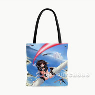 Strike Witches Custom Personalized Tote Bag Polyester with Small Medium Large Size