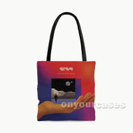 STS9 The Universe Inside Custom Personalized Tote Bag Polyester with Small Medium Large Size