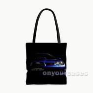 Subaru Impresa WRX STI Custom Personalized Tote Bag Polyester with Small Medium Large Size