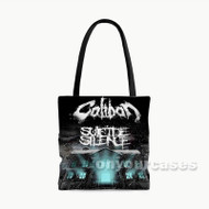 Suicide Silence Caliban Custom Personalized Tote Bag Polyester with Small Medium Large Size