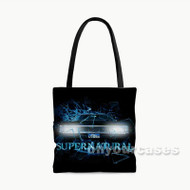 Supernatural Shatter Custom Personalized Tote Bag Polyester with Small Medium Large Size