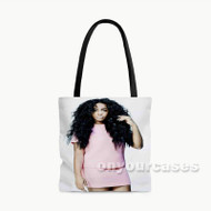Sza Custom Personalized Tote Bag Polyester with Small Medium Large Size