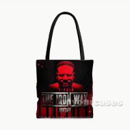 T Pain The Iron Way Custom Personalized Tote Bag Polyester with Small Medium Large Size