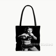 Tecia Torres UFC Custom Personalized Tote Bag Polyester with Small Medium Large Size