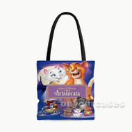 The Aristo Cats Custom Personalized Tote Bag Polyester with Small Medium Large Size