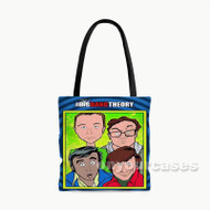 The Big Bang Theory 2 Custom Personalized Tote Bag Polyester with Small Medium Large Size