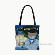 The Cat Returns Custom Personalized Tote Bag Polyester with Small Medium Large Size