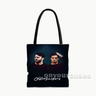 The Chainsmokers Custom Personalized Tote Bag Polyester with Small Medium Large Size