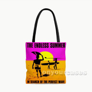The Endless Summer Custom Personalized Tote Bag Polyester with Small Medium Large Size