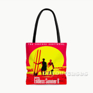 The Endless Summer II Custom Personalized Tote Bag Polyester with Small Medium Large Size