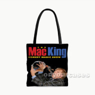 The Mac King Comedy Magic Show Custom Personalized Tote Bag Polyester with Small Medium Large Size