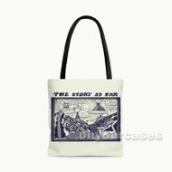 The Story So Far Custom Personalized Tote Bag Polyester with Small Medium Large Size