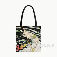 The Sub Mariner Custom Personalized Tote Bag Polyester with Small Medium Large Size