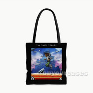 The Sun s Trade Isaiah Rashad Custom Personalized Tote Bag Polyester with Small Medium Large Size