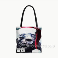 The Walking Dead Christmas Custom Personalized Tote Bag Polyester with Small Medium Large Size