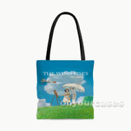 The Wind Rises Custom Personalized Tote Bag Polyester with Small Medium Large Size