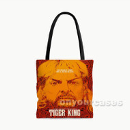 Tiger King Custom Personalized Tote Bag Polyester with Small Medium Large Size